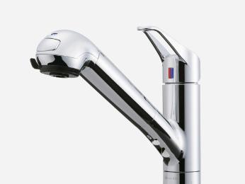 浄水器付シャワー水栓