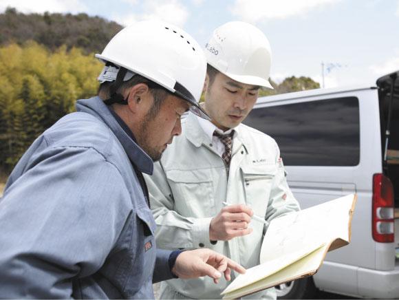 安心の施工管理体制合計7回の点検