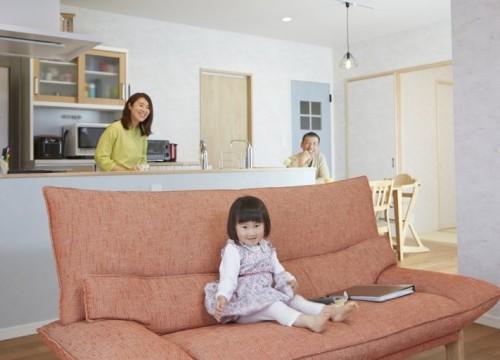 『1階で家事が完結』する機能的な間取り
